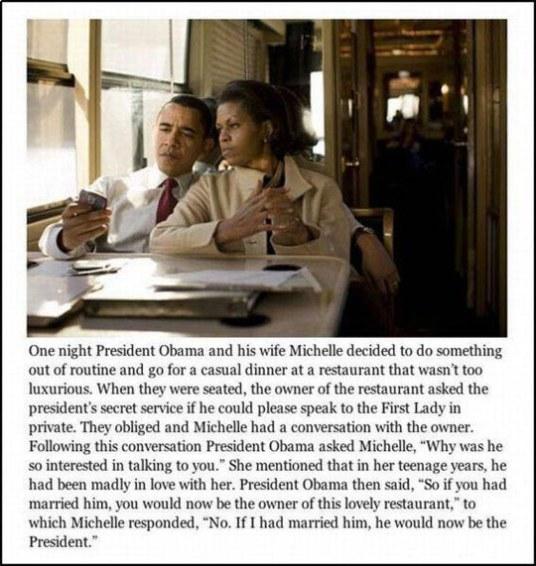 funny-president-Michelle-Obama-restaurant-story