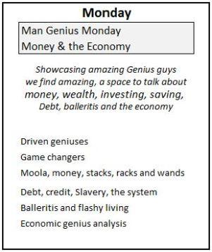 1 Monday Genius