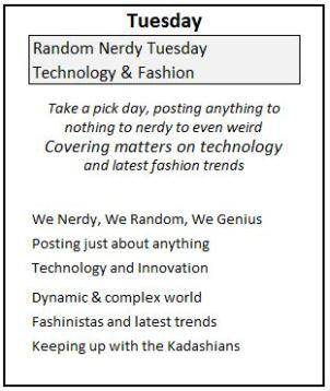 2 Tuesday Genius