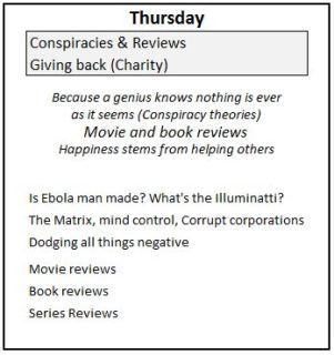 4 Thursday Genius