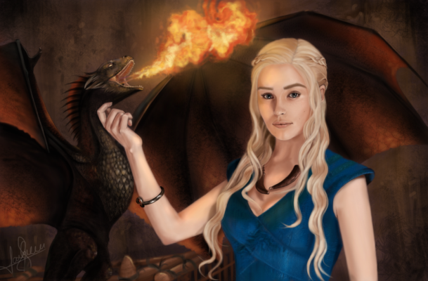 daenerys_targaryen___mother_of_dragons_by_laracremon-d7dcp38