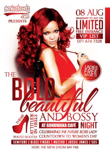 Bold Beautiful & Bossy Ladies Night Outt