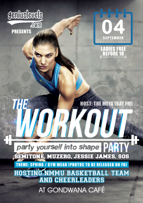 FLYER---Genius-Levels---The-Workout-Party